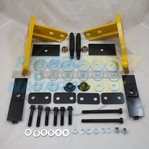 Roadsafe HD 5000kg Rated Recovery Tow Points for Nissan Patrol Y62  PAIR
