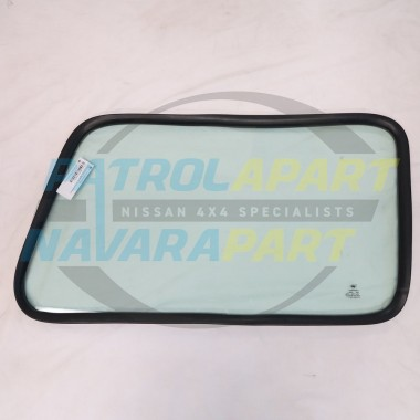 Nissan Patrol GQ LWB Replacement Solid Side Window Drivers Side