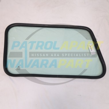 Nissan Patrol GQ LWB Replacement Solid Side Window Passenger Side