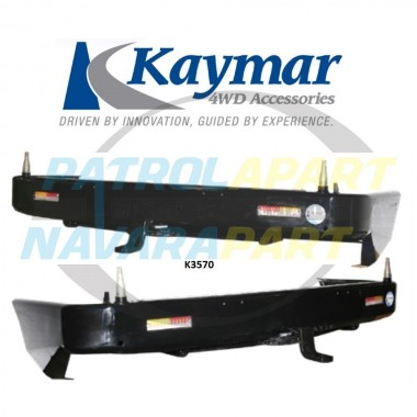 Nissan Patrol Y62 Kaymar Rear Bar with Twin Pivots ST-L & TI Series 4