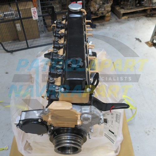 Details about Genuine Nissan Patrol GU TD42TI New Long Engine Assembly  (10102VC720)