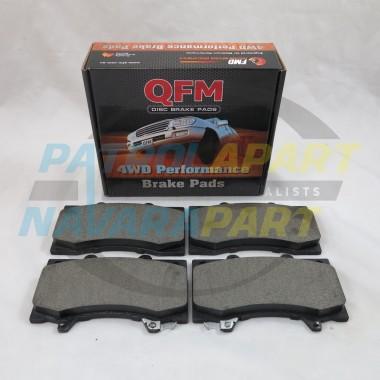 Nissan Patrol GU Front QFM Brake Pads TB45 RD28 ZD30 TD42